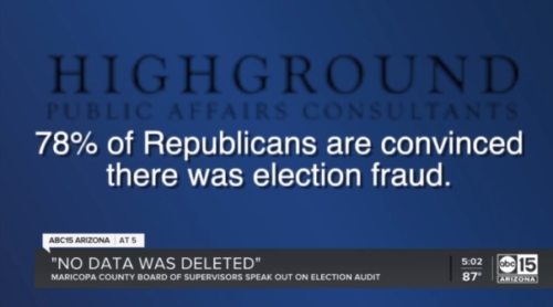 ABC 15: 'No data was deleted': Maricopa County Board of Supervisors speak out on election audit