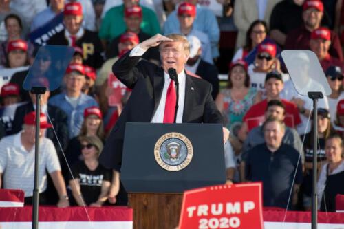 Roll Call: Senate candidates walk Trump tightrope as he returns to Arizona
